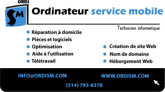 ordism, reparation informatique, ordinateur